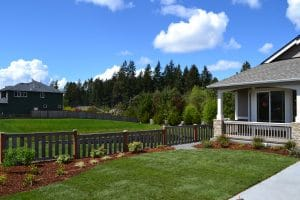 Evergreen Heights Home (file is numbers)- Rob Rice Homes designs beautiful landscaping that only gets better with time.
