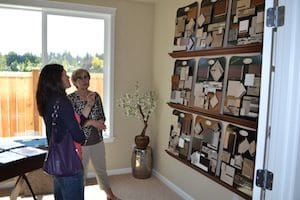 Realtors helps a homeowner with design choices and with their home buying process. Photo courtesy of Barb Lally
