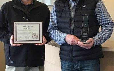 Rob Rice Homes Receives Builder Achievement Award