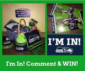 Winner of the drawing will receive this basket loaded with Fan gear for the game!