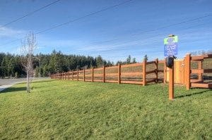 A private 2-acre fully fenced dog park is available for residents.