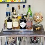 Bar Cart in New Home
