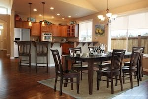McKinley kitchen: Gourmet kitchens are a standard feature in this community.