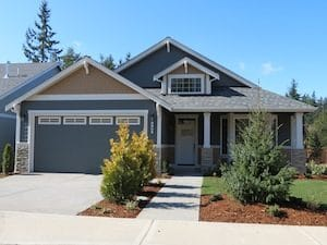 The Spruce is a main-floor master plan offering 2,445 sq ft.