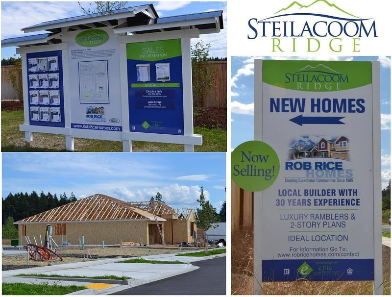 Steilacoom Ridge New Homes in Lacey