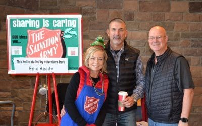 "Epic Realty & Rob Rice Homes ""Put The Kettle On"" For A Good Cause"