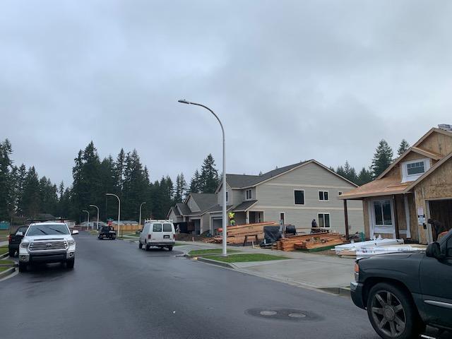 Bradbury homes under construction