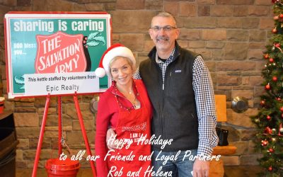 Rob Rice Homes & Epic Realty Teams Up With The Salvation Army To #RescueChristmas