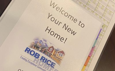 How Rob Rice Homes' Walk-through Process Provides Valuable Information